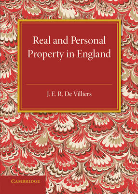 The History of the Legislation Concerning Real and Personal Property in England: During the Reign of Queen Victoria