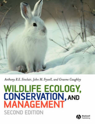 Wildlife Ecology, Conservation and Management
