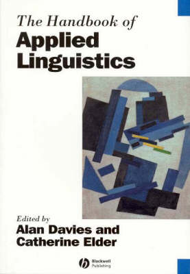 The Handbook of Applied Linguistics