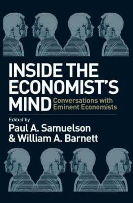 Inside the Economist's Mind: Conversations with Eminent Economists