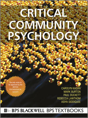 Critical Community Psychology: Critical Action and Social Change