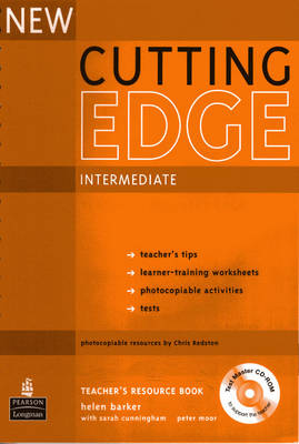 New Cutting Edge Intermediate Teachers Book and Test Master CD-ROM Pack