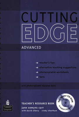 New Cutting Edge Advanced Teachers Book and Test Master CD-ROM Pack