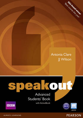 Speakout Advanced Students' Book and ActiveBook