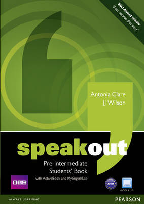 Speakout Pre-intermediate Students' Book with ActiveBook and MyEnglishLab