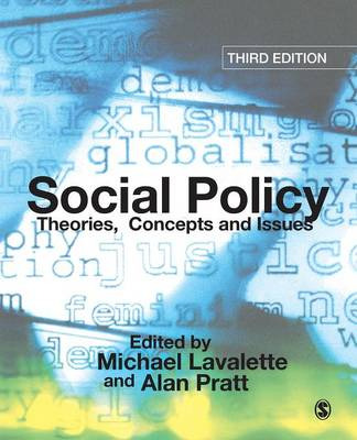 Social Policy: Theories, Concepts and Issues