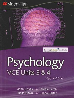 Psychology VCE Units 3 and 4
