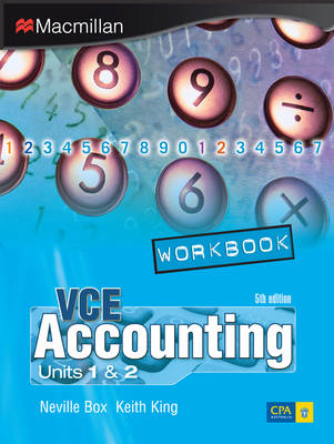 VCE Accounting Units 1 and 2 Workbook