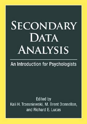 Secondary Data Analysis: An Introduction for Psychologists
