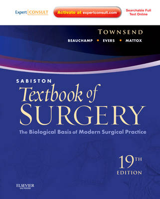 Sabiston Textbook of Surgery: The Biological Basis of Modern Surgical Practice