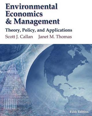 Environmental Economics & Management  : Theory, Policy and Applications