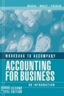 Accounting for Business Workbook