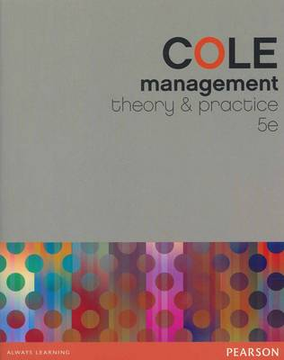 Management: Theory and Practice with Companion Website Student Access Code Card (new copies only)