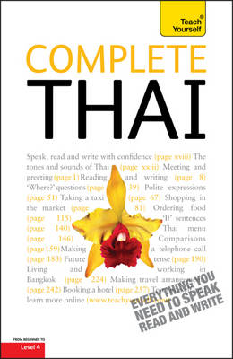 Complete Thai Beginner to Intermediate Course: Learn to Read, Write, Speak and Understand a New Language with Teach Yourself