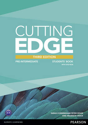Cutting Edge Pre-Intermediate Students' Book and DVD Pack