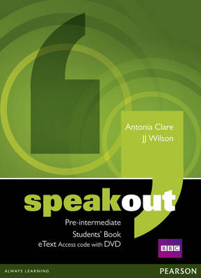 Speakout Pre-Intermediate Student's Book etext with DVD