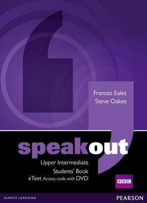 Speakout Upper Intermediate Student's Book eText with DVD