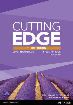 Cutting Edge Upper Intermediate Student Book with DVD and Lab
