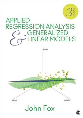 Australian Publishers Association Feedback Applied Regression Analysis and Generalized Linear Models 3ed