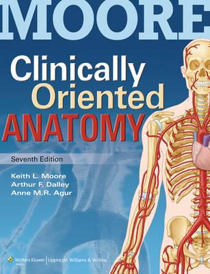 Clinically Oriented Anatomy 7ed + Colour Atlas of Anatomy 7ed
