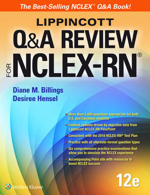 Lippincott Q&A Review for NCLEX-RN, North American Edition