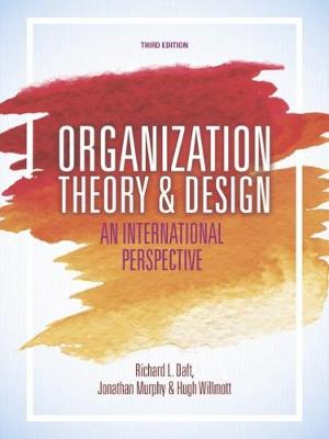 Organization Theory and Design : An International Perspective