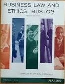 Business Law & Ethics: BUS103 new edition 02/13