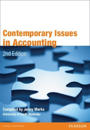 Contemporary Issues in Accounting 2e*old edition* - Compiled by Jenny Marks