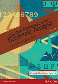 Further Mathematics For Economic Analysis Publication for UQ