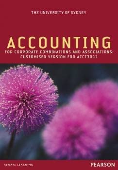 Accounting for Corporate Combinations & Associations Custom Publication