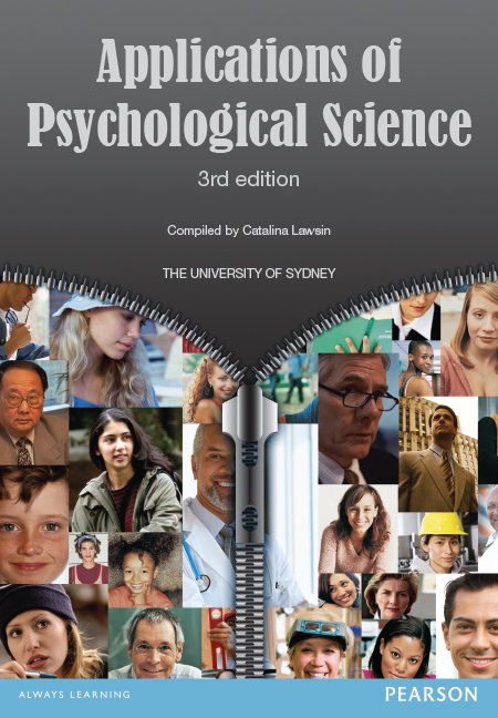 CUST PSYC3020 Applications of Psycholigical Science