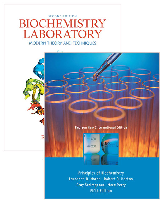 Value Pack Principles of Biochemistry (Pearson New International Edition) + Biochemistry Laboratory: Modern Theory & Techniques