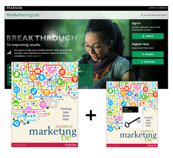 Value Pack Principles of Marketing + MyMarketingLab with eText