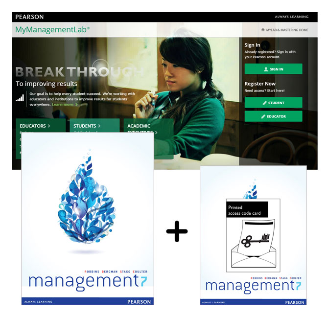 Management + MyLab Management with eText