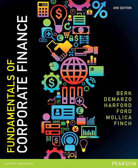 Fundamentals of Corporate Finance + MyFinanceLab with eBook (new copies only)