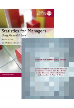 Statistics for Managers and Introductory Mathematical Analysis