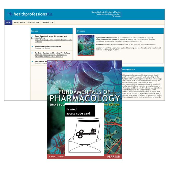 Value Pack Fundamentals of Pharmacology + MyHealthProfessionsKit (Access Card)