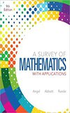 Value Pack Survey of Mathematics with Applications Pearson New International Edition + MathXL (9e)