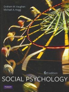 Social Psychology 6ED + Cognitive Psychology 3ED + Social Cognitive Psych CB Access Code