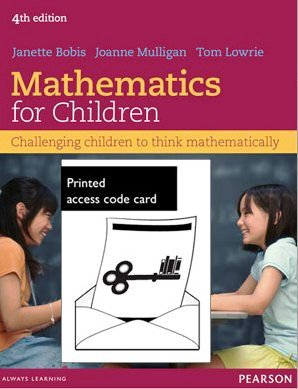 Mathematics for Children (Text Only + MyEducationLab)