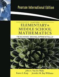 Elementary & Middle School Mathematics + MyMathLabGlobal + New MyEducationalLab