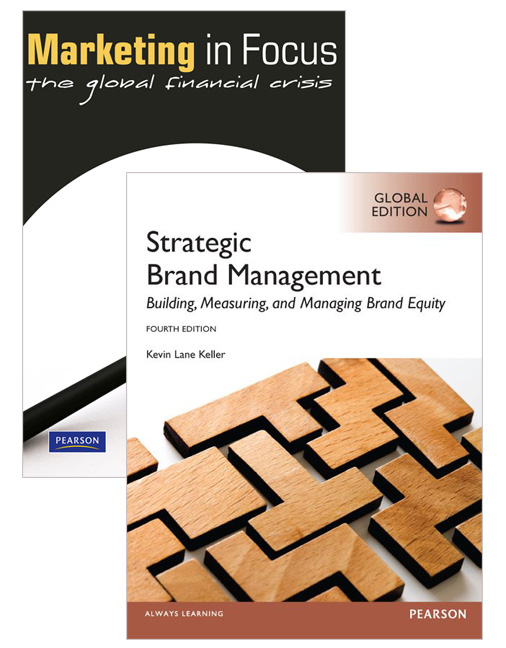 Value Pack Strategic Brand Management (Global Edition) + Marketing in Focus