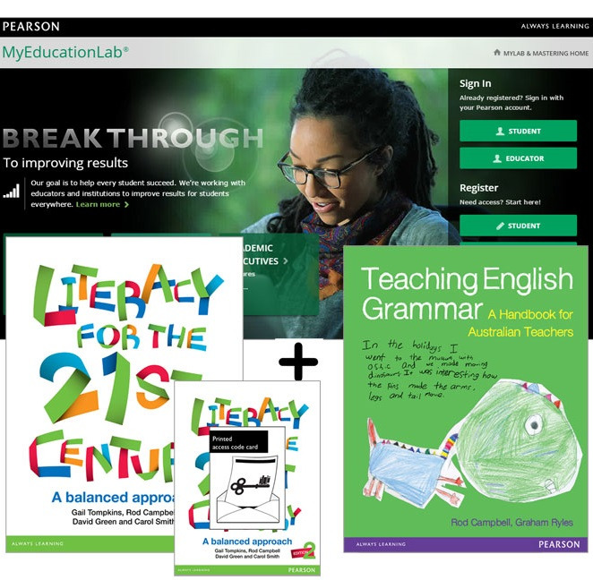 Value Pack Literacy for the 21st Century: A Balanced Approach + MyEducationLab with eText + Teaching English Grammar