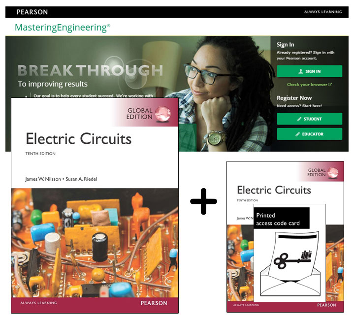 Electric Circuits, Global Edition + Mastering Engineering with eText