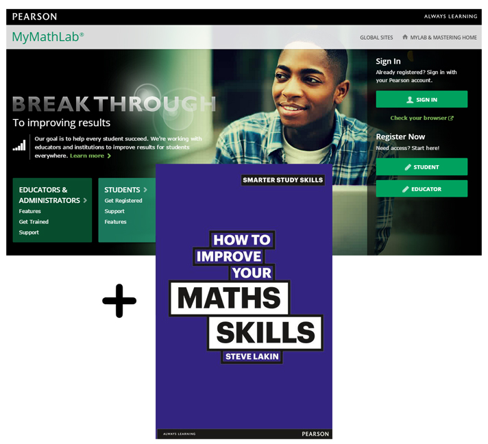 Value Pack How to Improve Your Maths Skills + MyMathLab