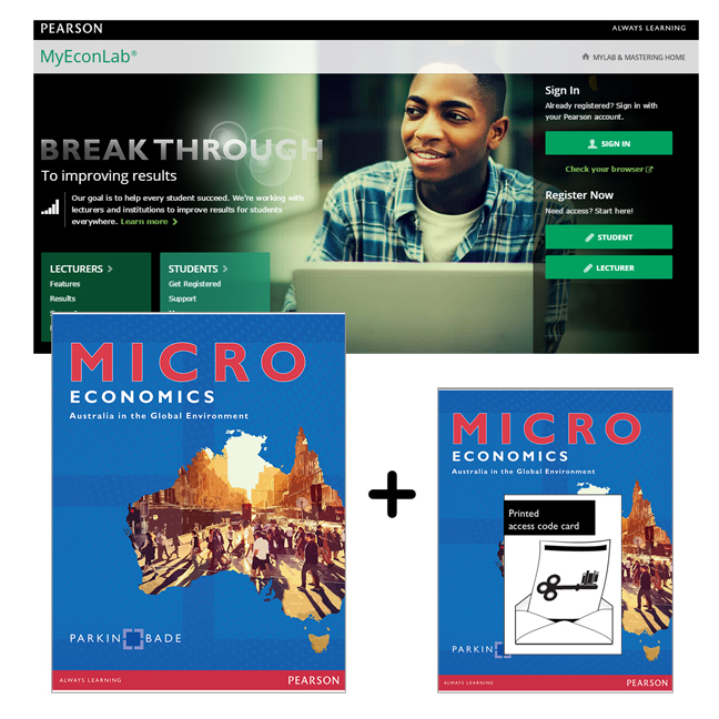 Value Pack Microeconomics: Australia In The Global Environment + MyEconLab With EText (new copies only)