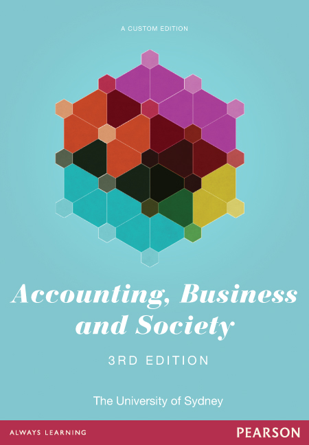 Accounting, Business and Society + MyLab Accounting without eText (Custom Edition)
