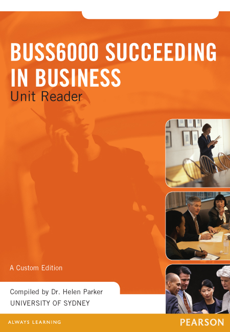 Succeeding in Business BUSS6000 Custom Publication