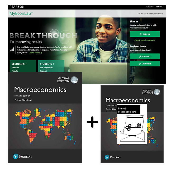 Value Pack Macroeconomics Global Edition + MyEconLab with eText