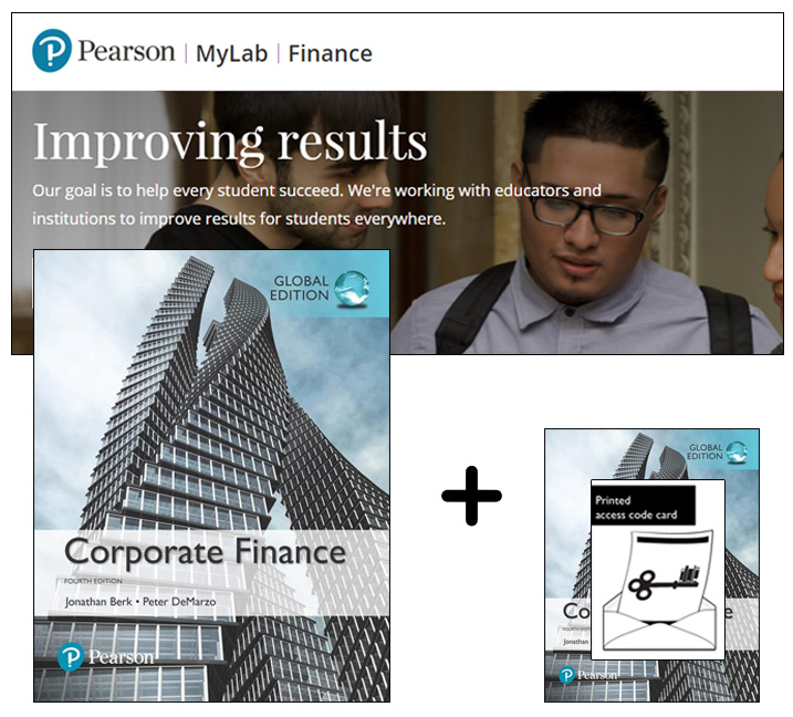 Value Pack Corporate Finance + MyFinanceLab with eText